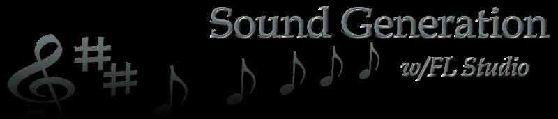 Sound Generation with FL Studio
