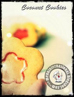 Cara Membuat Kue Kering Coconut Cookies Spesial Natal