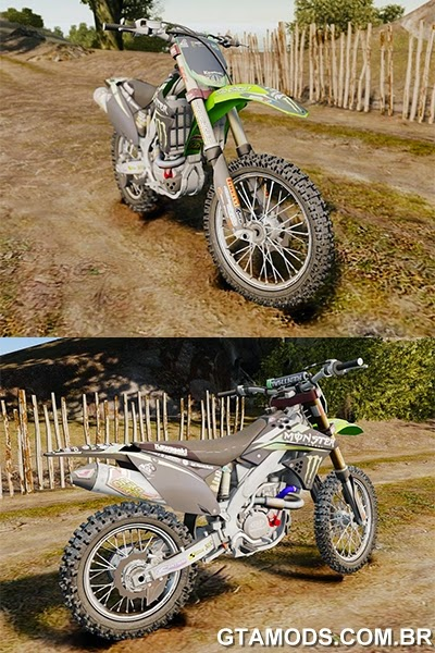 Kawasaki KX250F Monster Energy
