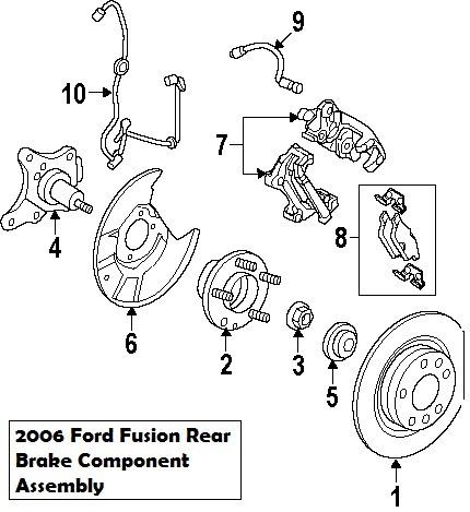 Wiring Diagrams Ford Fusion 2006 Rear