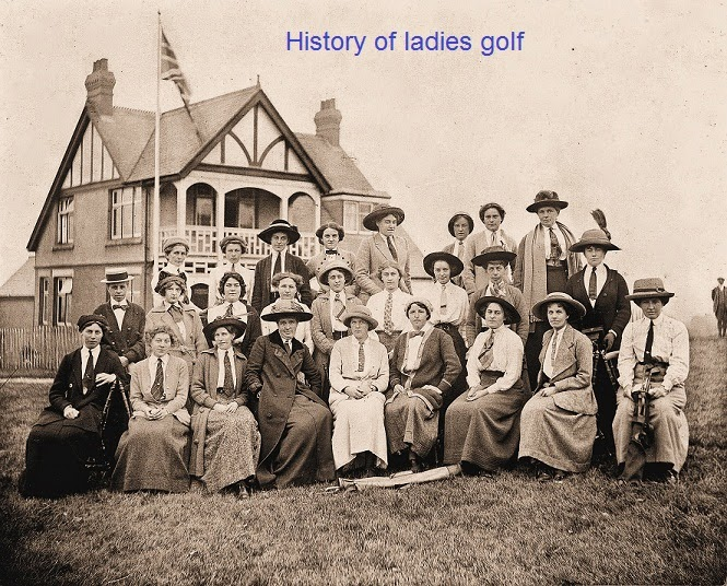 ladies golf history