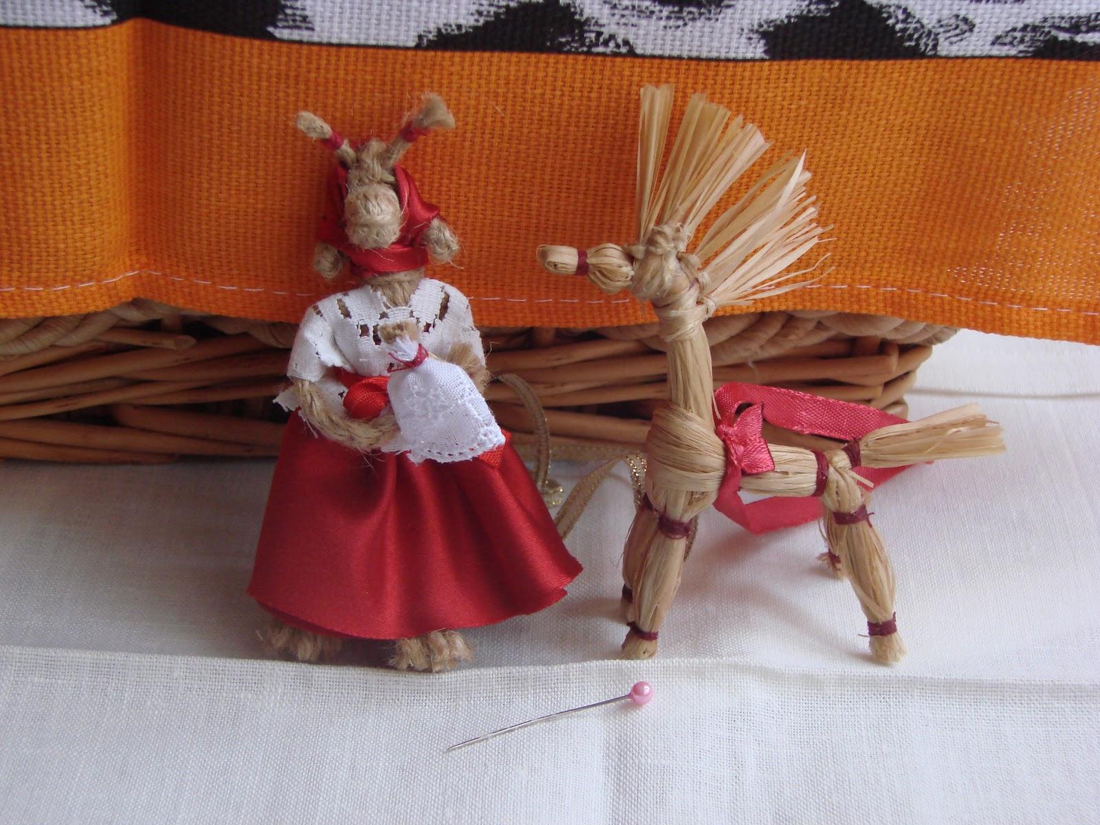 Куклы из мочалки и пакли своими руками