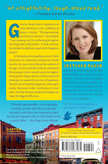 Gretchen Rubin's memoir: The Happiness Project