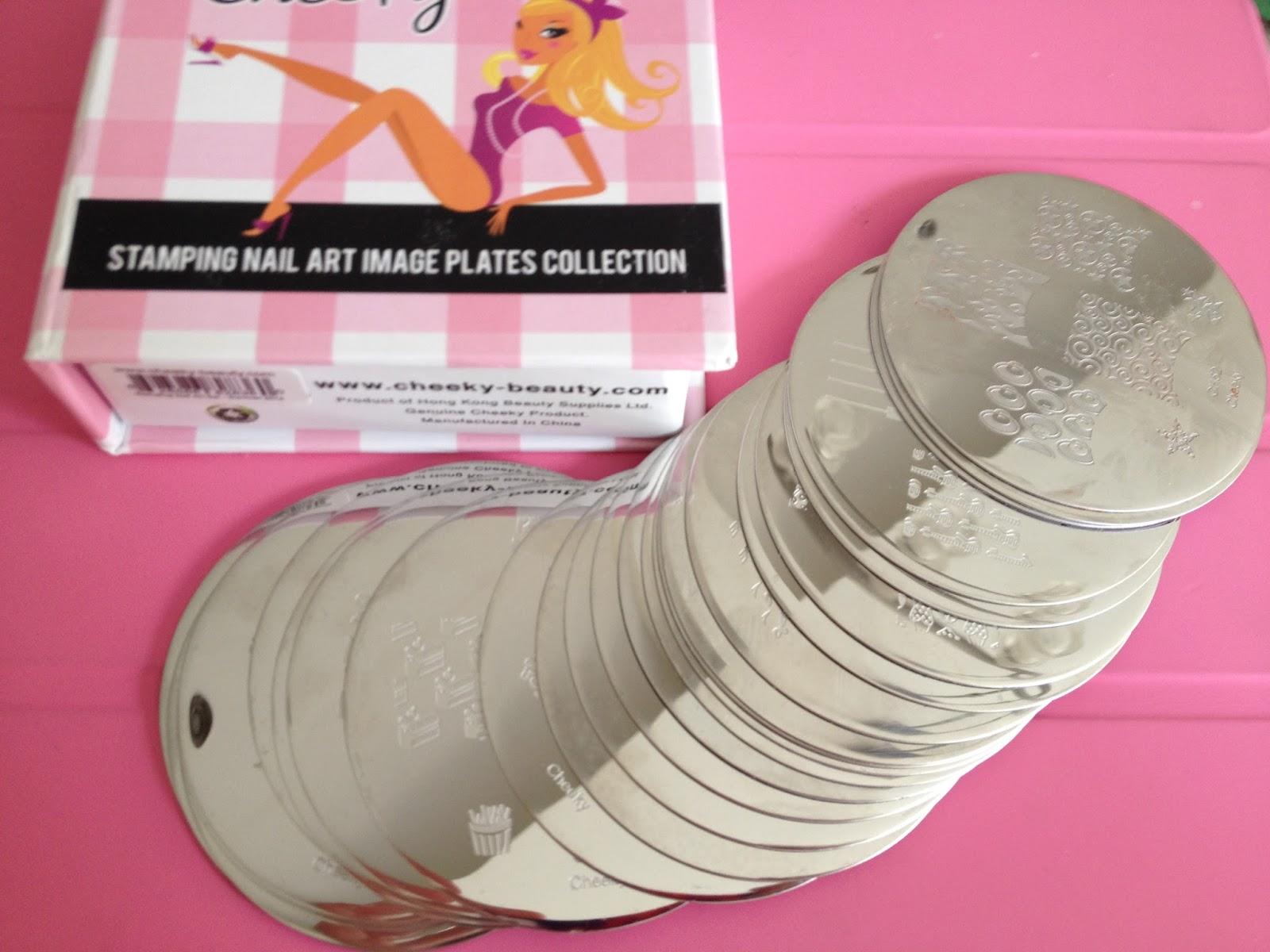 Stephanie Maverick Nail Art Stamping Plates Review