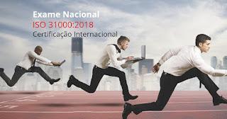 EXAME para a Certificação Profissional na ISO 31000