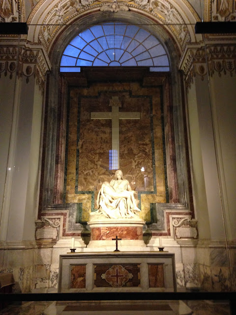 the Closet Catwalk, Europe, Rome, Italy, Honeymoon, Vatican, Pieta