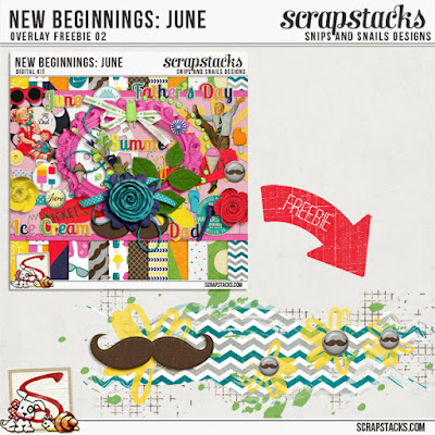 New Beginnings: June Overlay Freebie
