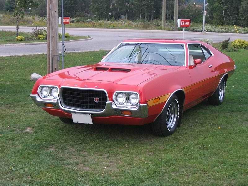 the 1972 ford gran torino