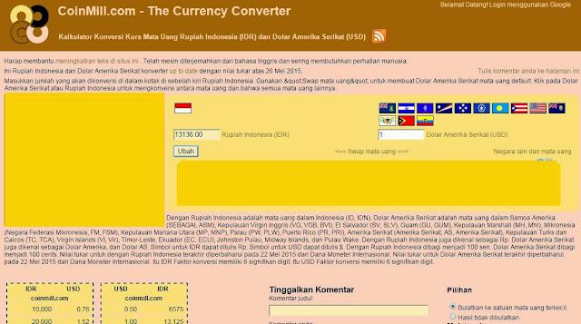 konversi mata uang