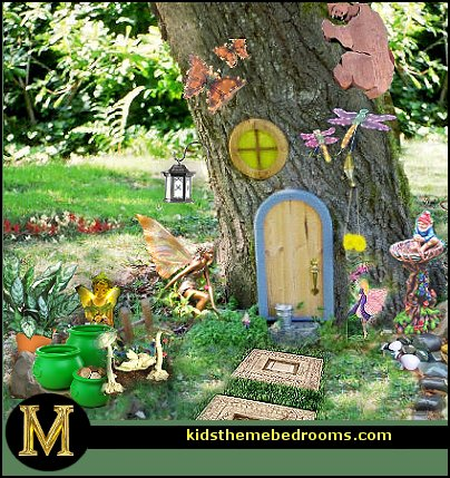 Decorating theme bedrooms maries manor fairy garden for Home garden decoration ideas