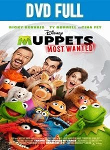 Muppets Most Wanted DVDR Full Español Latino 2014