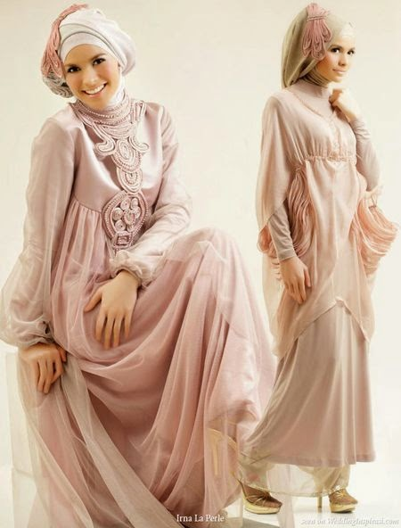 Model baju pengantin muslim modern