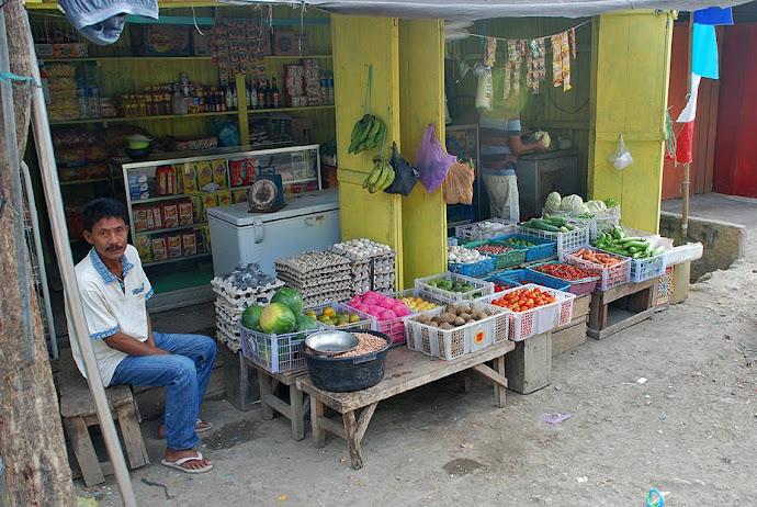 Vendedor en Labuanbajo