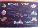 Ticket King Event Board!
