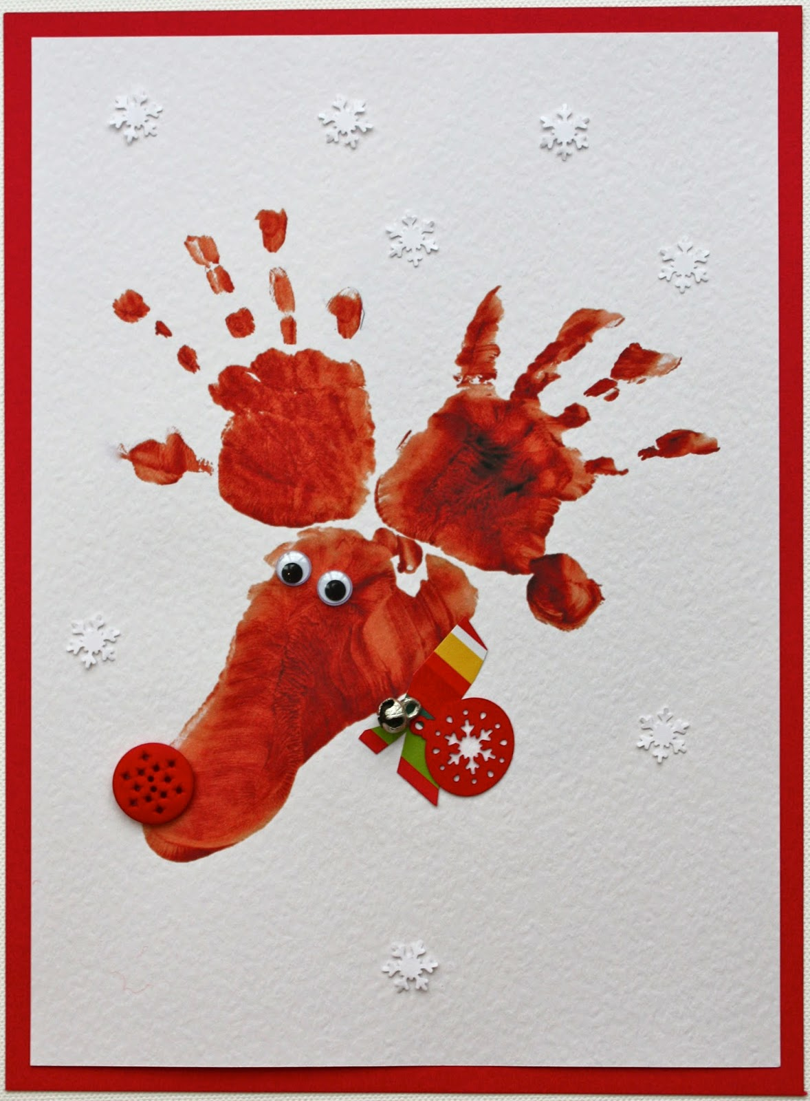Christmas cards designs for children to make