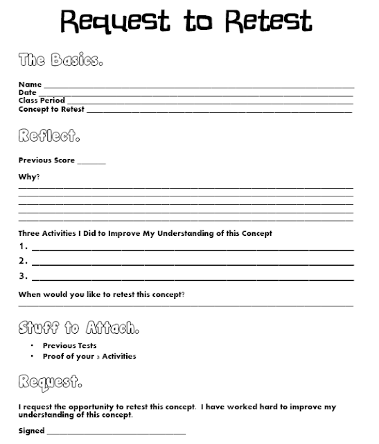 Math Love Free Classroom Forms – Request off Form