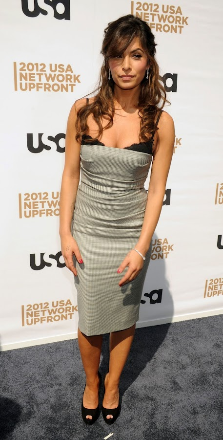 SARAH SHAHI at USA Network Upfront Presentation 2012