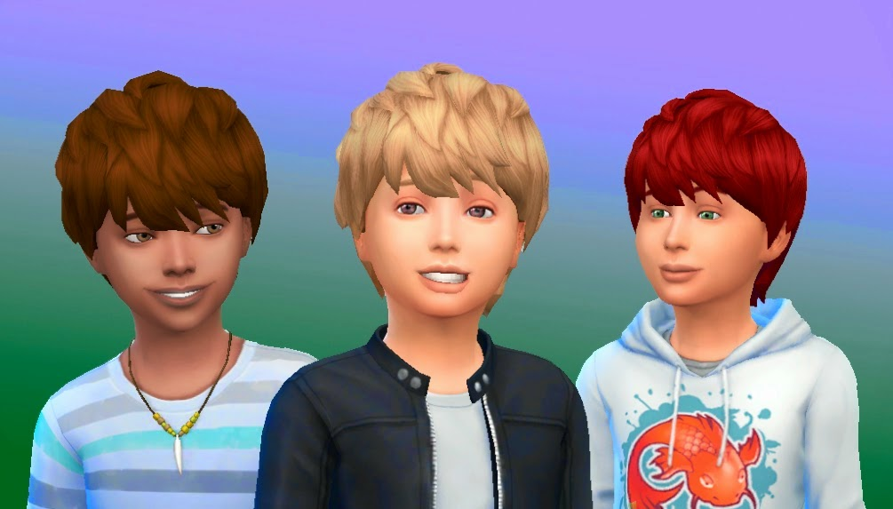 Sims 4 child hair newhairstylesformen2014 com