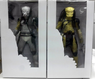 "NECA 1/4 Scale 18"" Elder Predator & ""Big Red"" Figures Packaging Mock-Up"