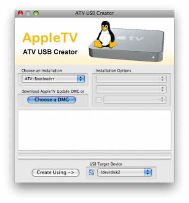 Apple TV USB Creator