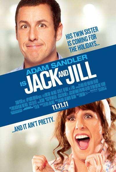 Jack and Jill 2011 DVDRip Español Latino Descargar [Adam Sandler]
