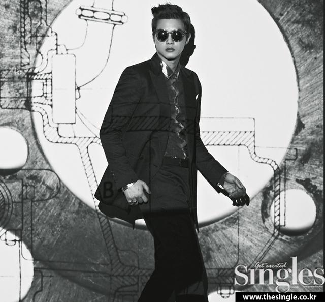 Kim Ji Hoon SINGLES Dergisinin Nisan Say�s� ��in Poz Verdi /// 30 Nisan 2013