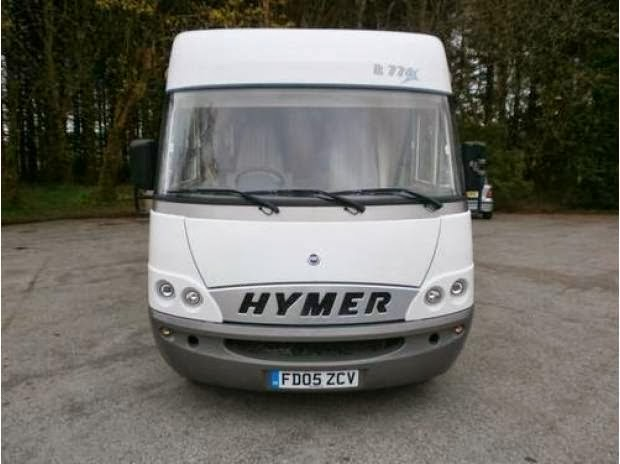 Camping Car Hymer Mobil D Occasion
