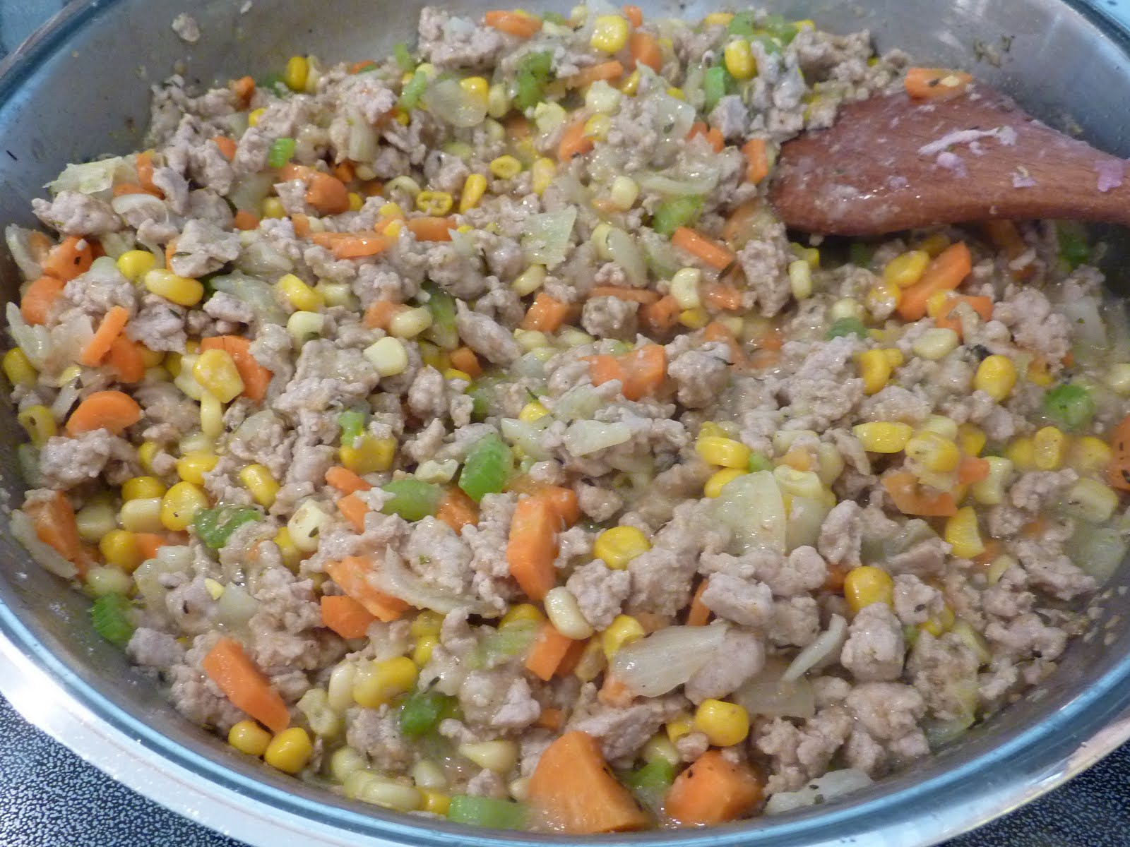how to cook ground chicken in pan