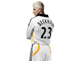 David Beckham Number 23 HD Wallpaper