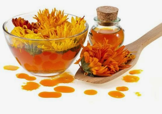 Calendula to cure Pink Eye