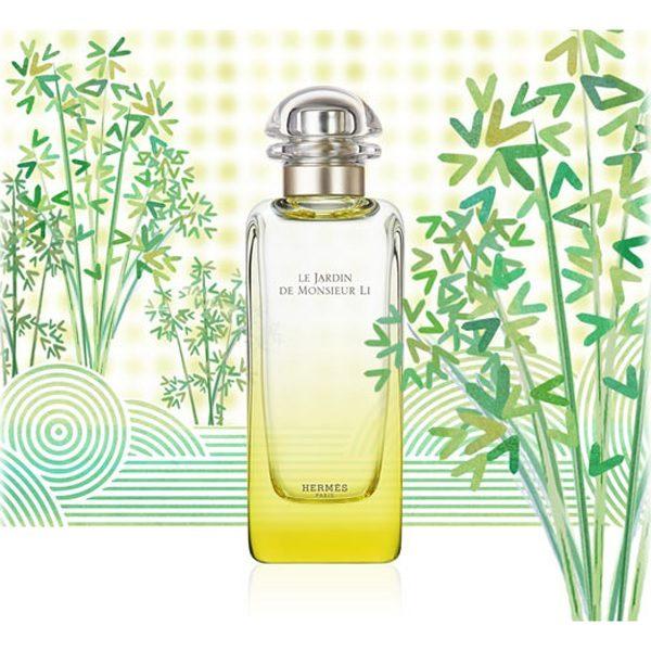 Reklama perfum Hermes Le Jardin de Monsieur Li