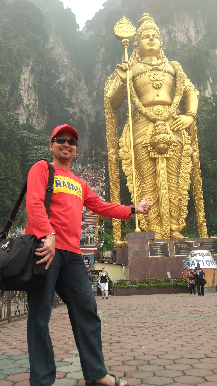 ME AT BATU CAVES
