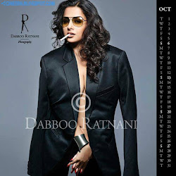 Vidya Balan on Dabboo Ratnani 2013 Calendar Hot Celebrities Photoshoot Stills