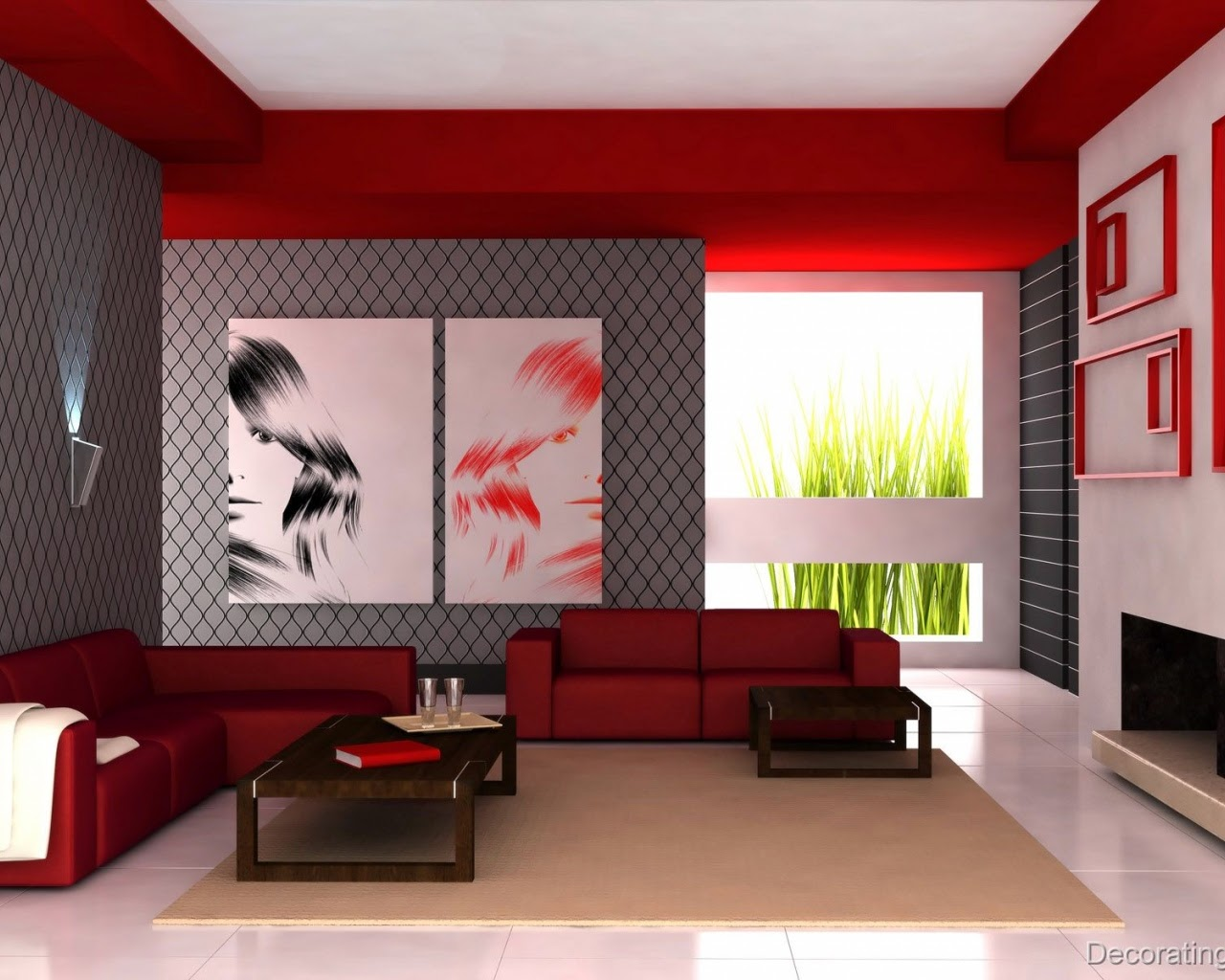 Smart Modern Minimalist Living Room Furniture Design Ideas