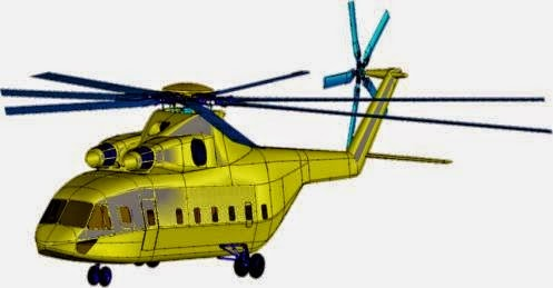 Sino-Russian 20+ ton Heavy-lift Helicopter