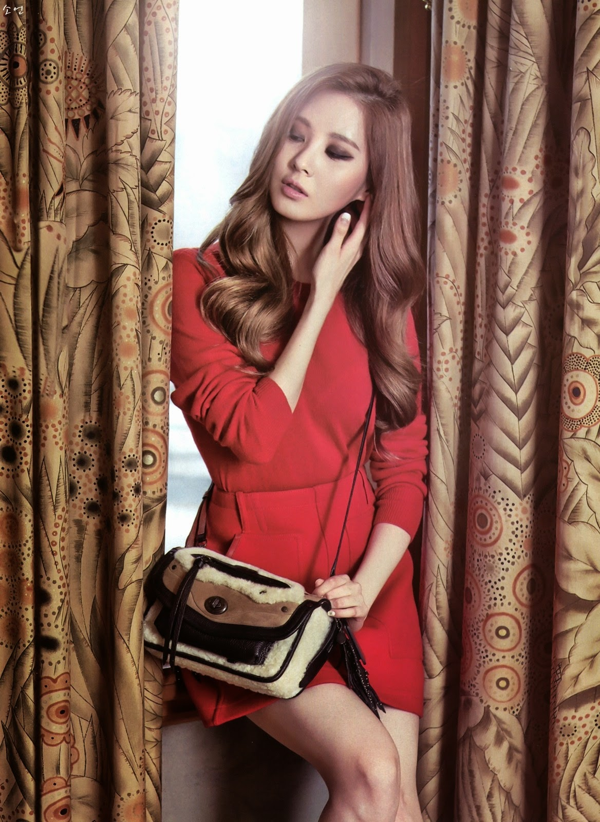 pictures 140821 snsd seohyun instyle magazine