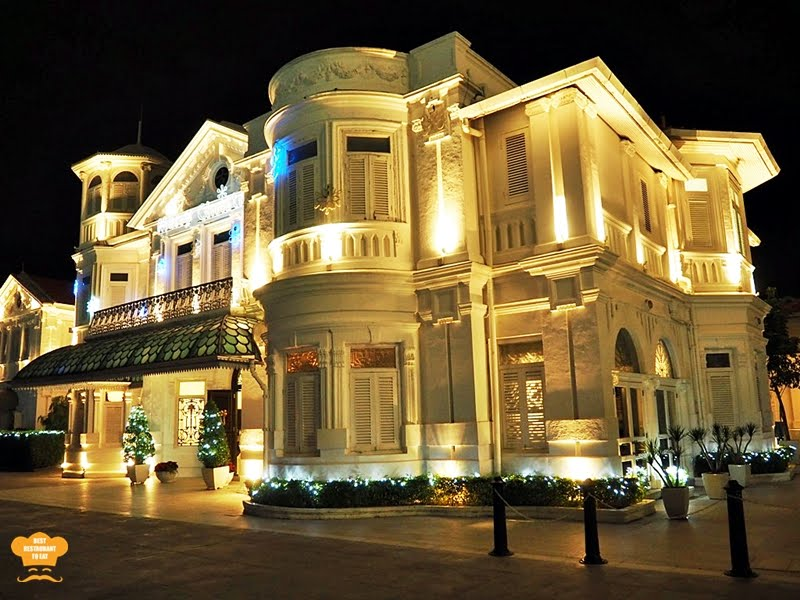 Best Restaurant To Eat Malaysian Food Travel Blog Dining Room Macalister Mansion Penang 8