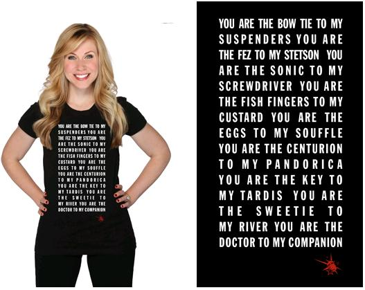 Then Her Universe Has You Covered With New Valentineu0027s Day Quote Tees  Designed By Star Wars Actress Ashley Eckstein