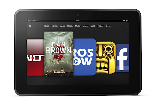 Amazon Kindle Fire HD tablets for next generation