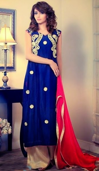 Farees Exclusive Dress Collection 2014