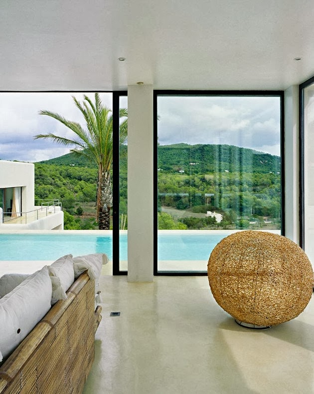 View from Ibiza dream home by Jaime Serra