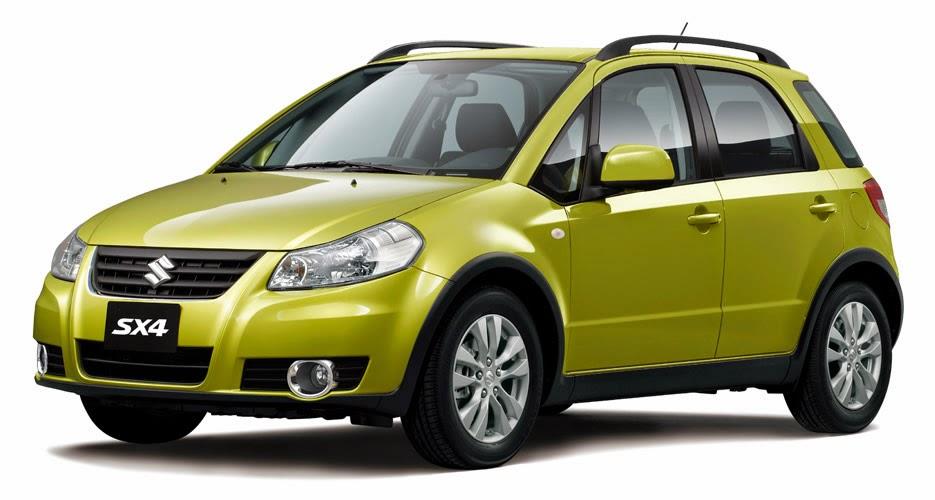Suzuki SX4 X-Over 2014