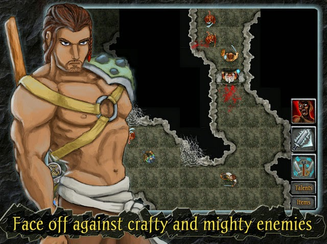 Heroes of Steel RPG Elite Apk screensot1
