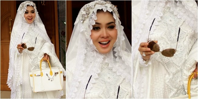 Model Baju Muslim Syahrini 2015