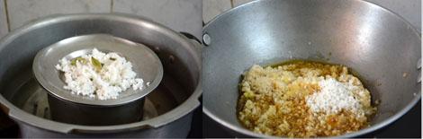 preparing dalia kheer