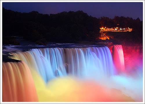 Niagara Falls in Night