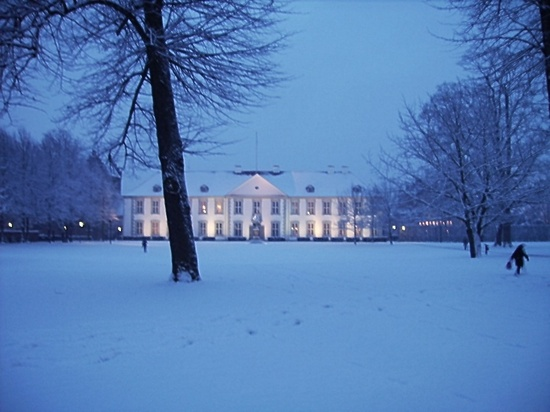Castle in The King's Garden in Odense