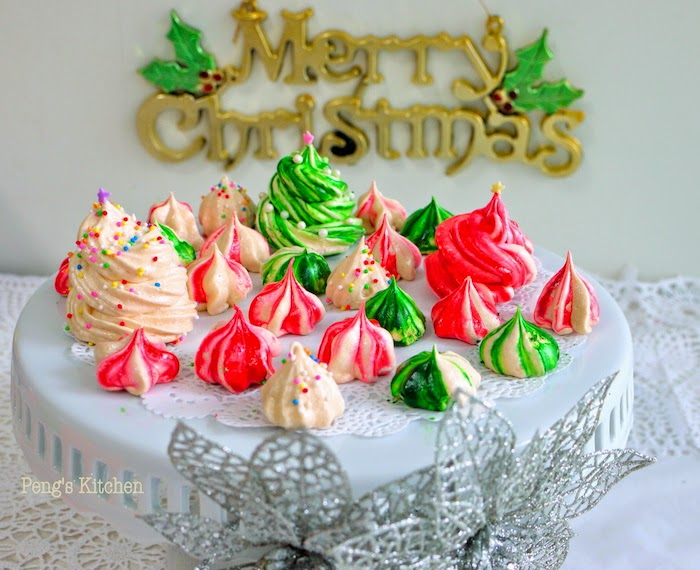 Peng S Kitchen Christmas Meringue Cookies