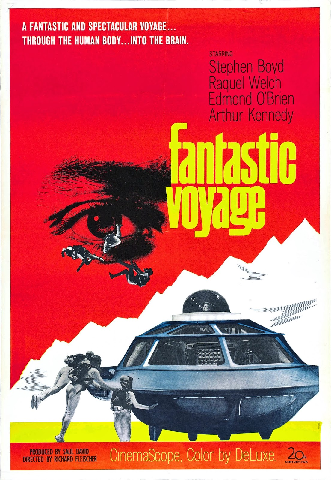 fantastic voyage part 1 Fantastic voyage film poster, 1966 for $245000 (4/28/2018) shop with global insured delivery at pamono call us at 1-800-601-2340 share about this piece vintage design tom beauvais designed this 1960s poster for the sci- fi film fantastic voyage the poster measures 32 x 42cm including the linen backing.