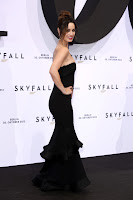 Berenice Marlohe strikes a pose on the black carpet